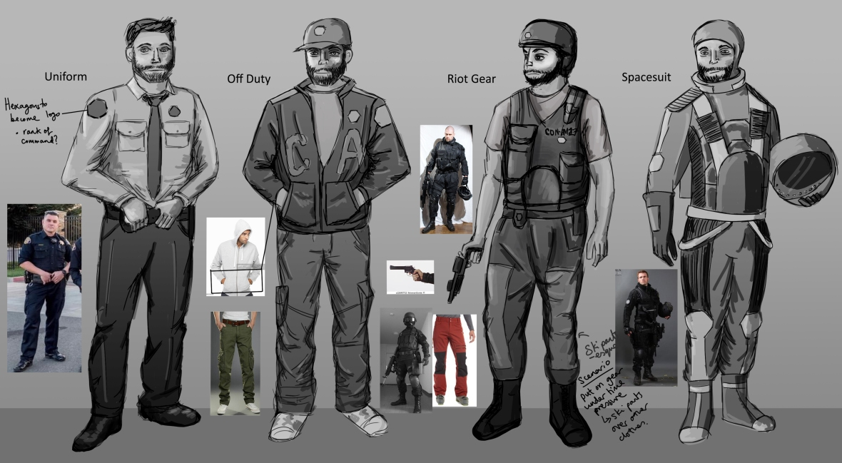 2.3 O'Niel outfits options