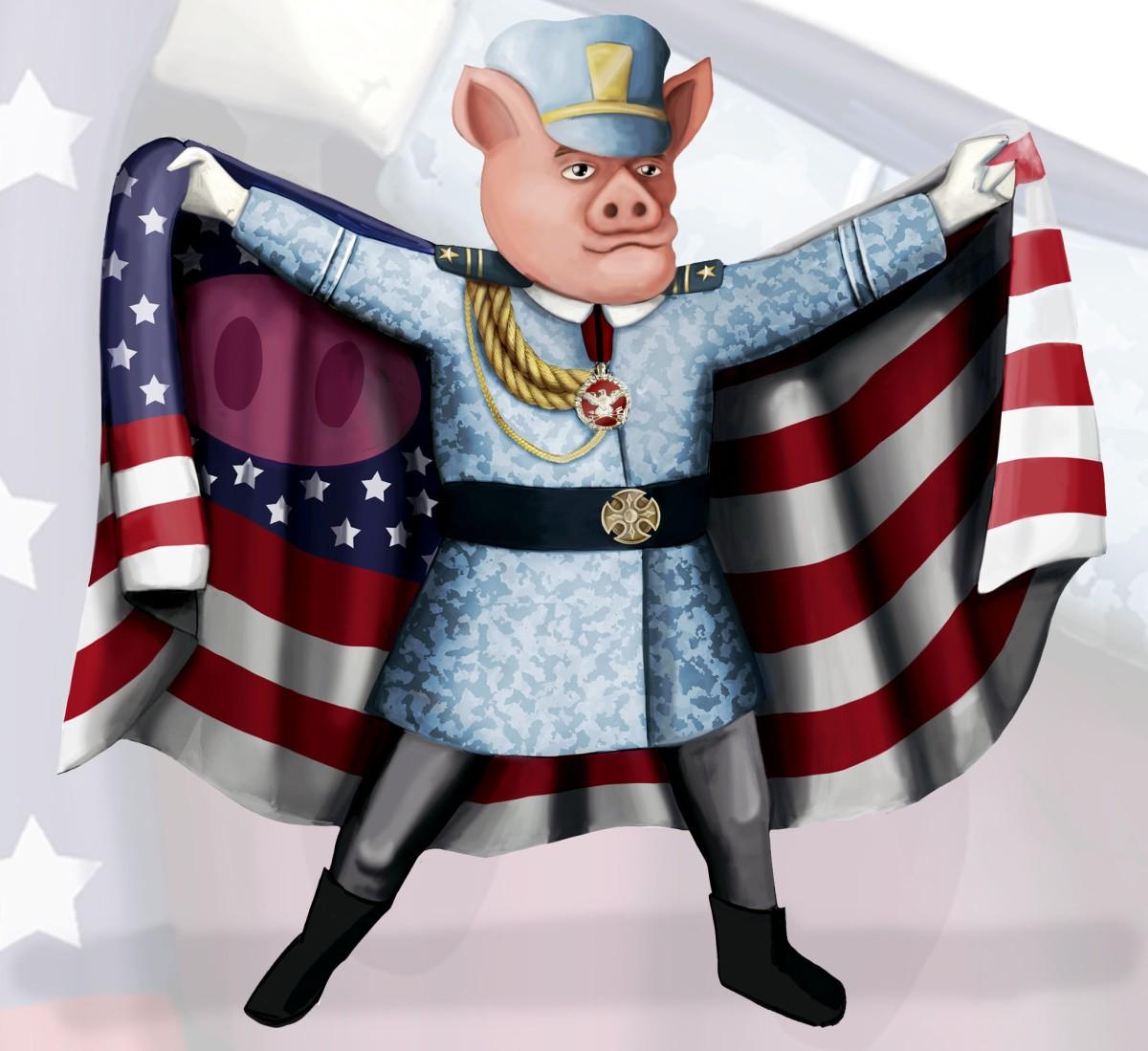 Hogs of War (2000) Reboot: Character and Uniform Design